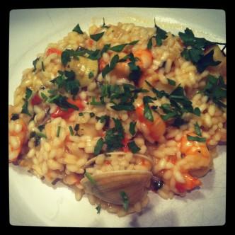 Seasfood Ristto