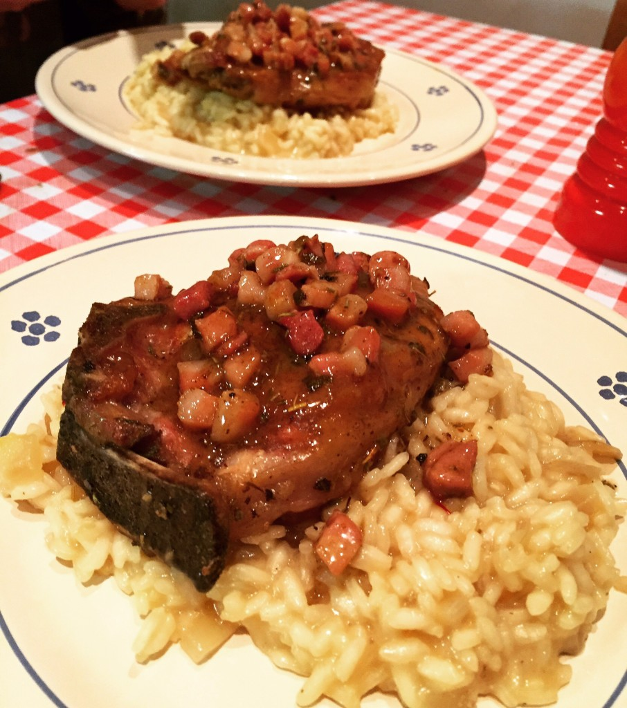 Veal Chops & Milanese risotto
