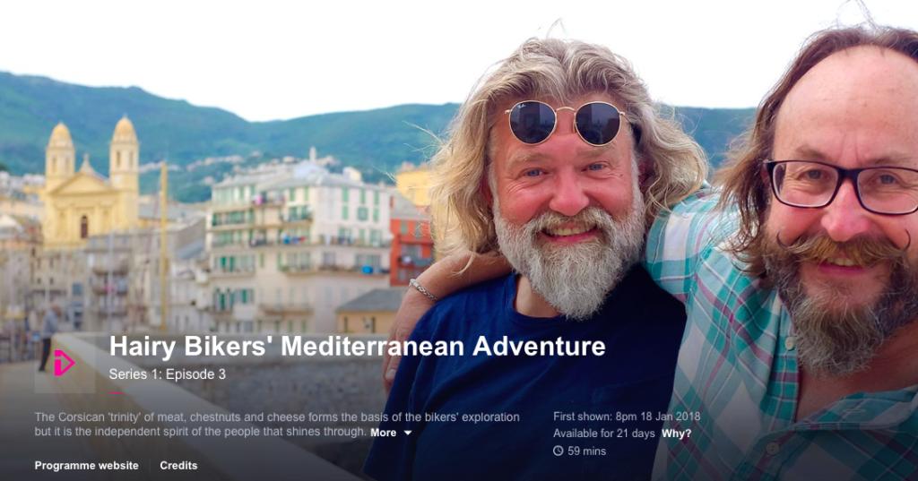 Hairy Bikers Mediterranean adventure