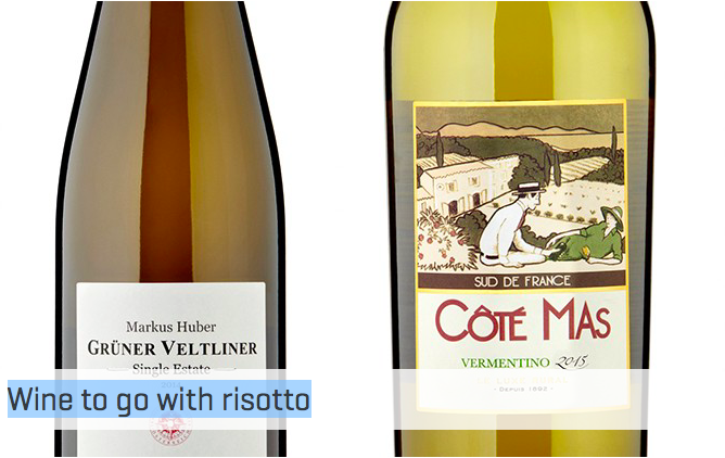 Wine to go with risotto