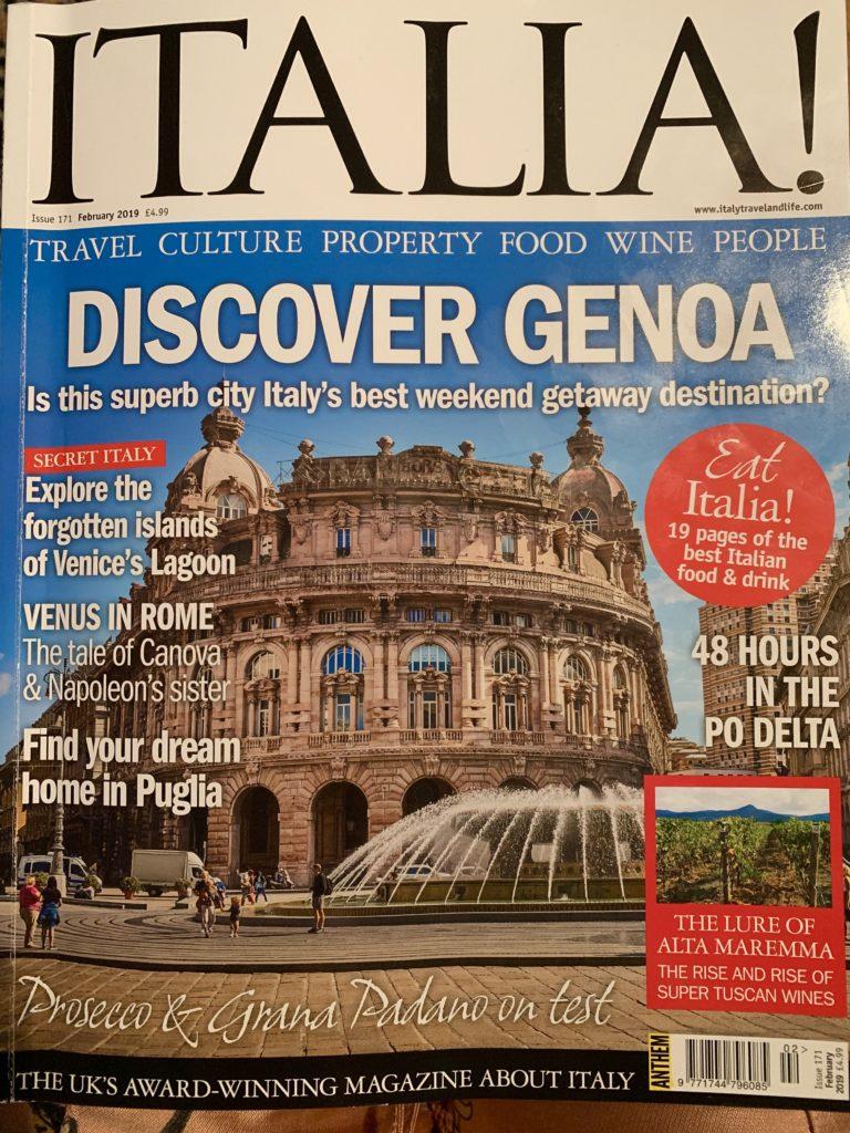 ITALIA MAGAZINE Blog of the month The Tiny Italian