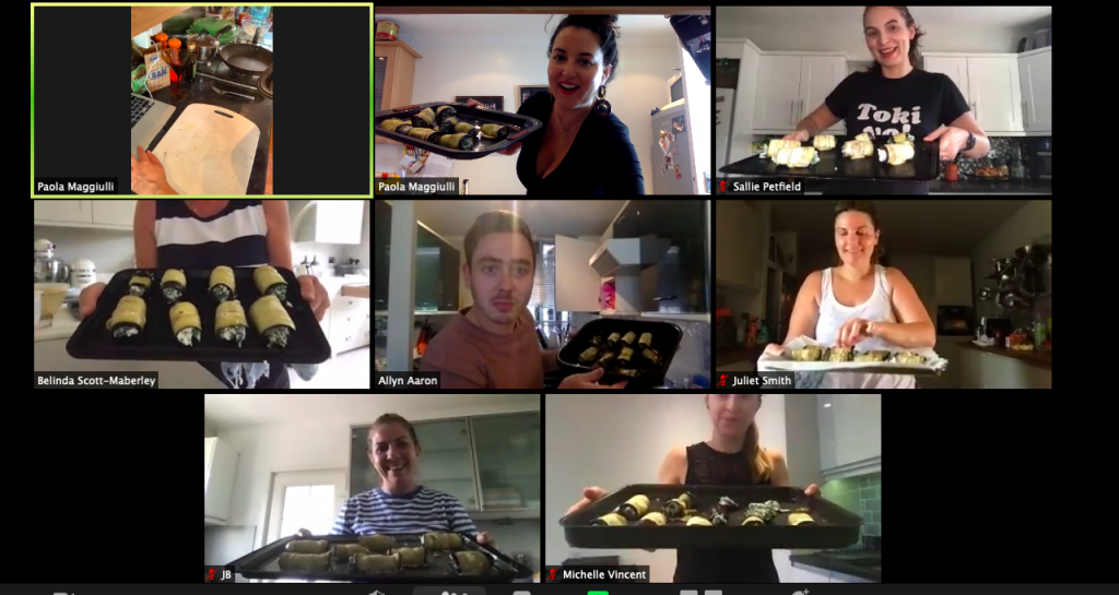 Online Group Cook A Long with Paola The Tiny Italian