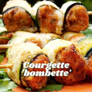 Courgette Bombette - Tiny Italian virtual Italian cook alongs this summer