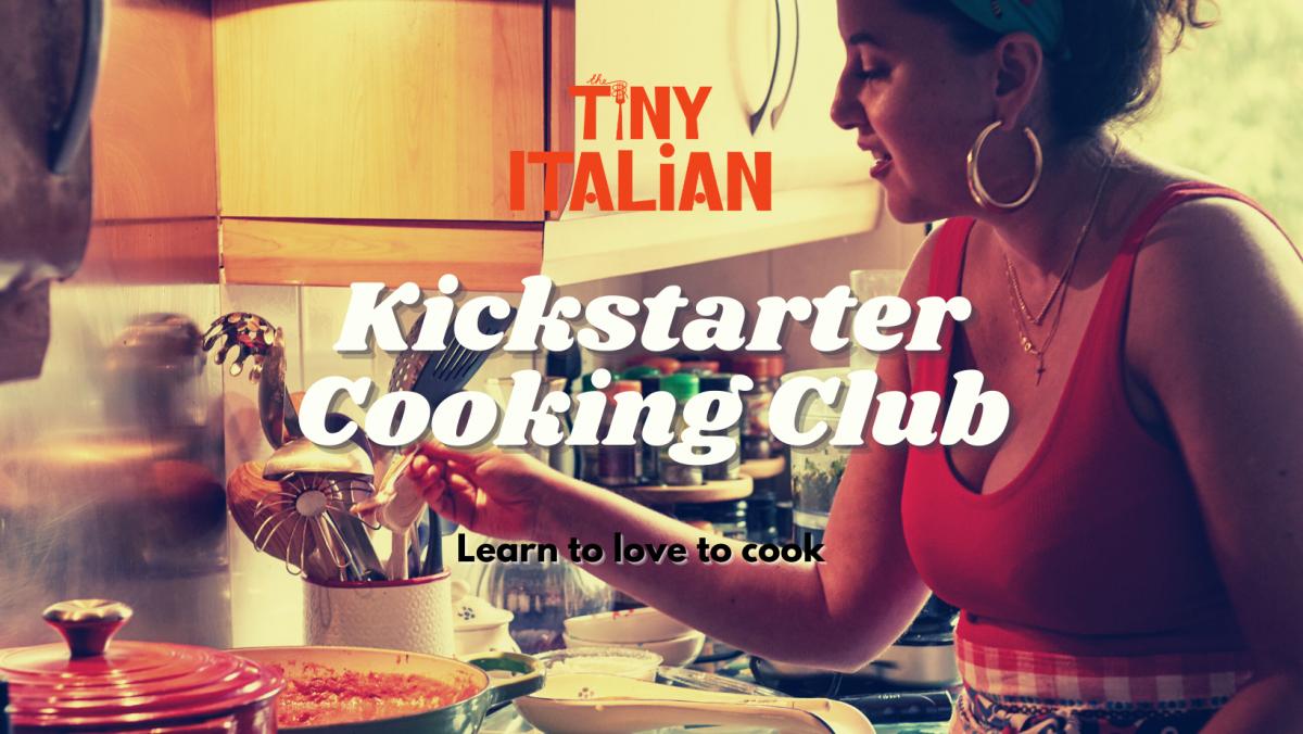 Tiny Italian Kickstart Cooking Club