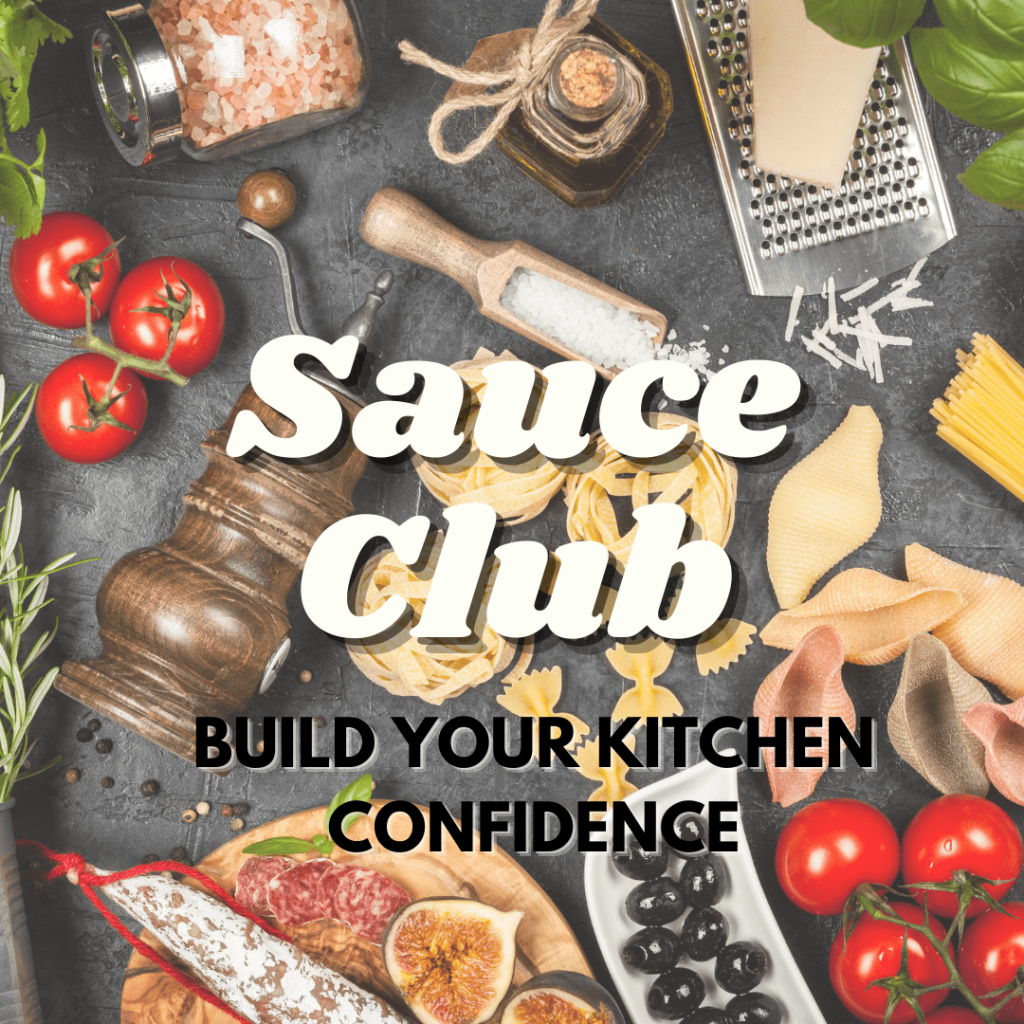 Tiny Italian Sauce Club build your cooking confidence