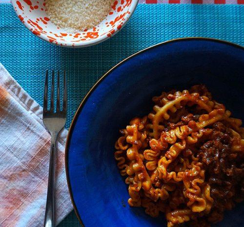 Sausage ragu - Tiny Italian