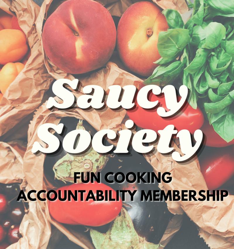 Tiny Italian Saucy Society Cooking Membership